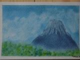 1618904 thum - ゆるりと3色パステル画ワークショップin ウェルカフェ(富士山のイメージを描く)