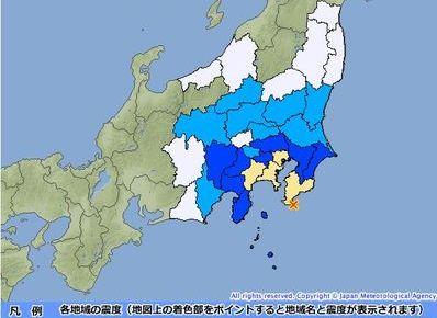 0624 03 thumb 398xauto 13664 1 - 東京で震度4 震源地は房総半島沖/インドネシアでM7.5の地震
