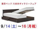 1625502 thum - ★9/14(土)~16(月祝)東京ベッド【六本木ギャラリー】『ご招待フェア』