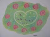 1630459 thum - ゆるりとパステルでお絵描き (薔薇とバレンタインのアレンジを描く)