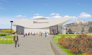 Artist's rendering of Ent Center for the Arts.
