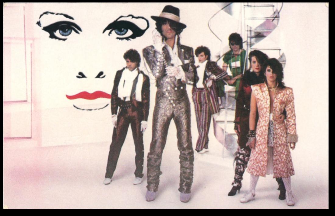 prince-pruple-rain-poster-postcard-front