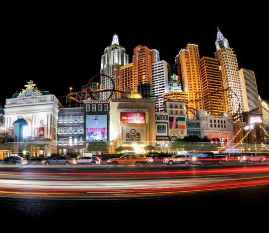 paronama photography of high rise buildings