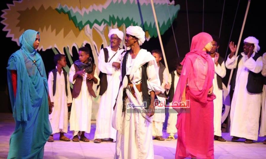 ليل غنا ودهب الشلاتين بالمهرجان القومى للمسرح  (19)