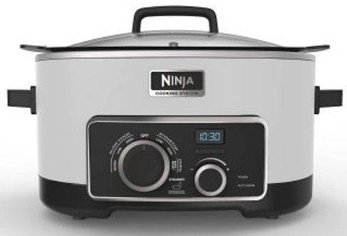 Ninja 4-in-1 Cooking System, Stainless Steel (MC950ZSS)