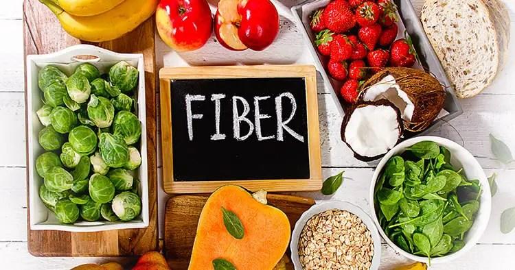 high-fiber-foods-on-wooden-background