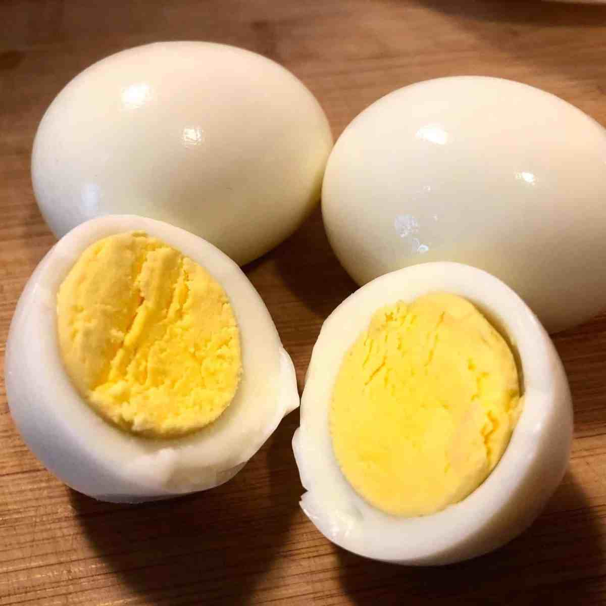 Instant Pot Hard Boiled Eggs | Pressure Luck Cooking