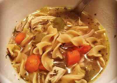 Instant Pot Jeffrey's Chicken Noodle Soup