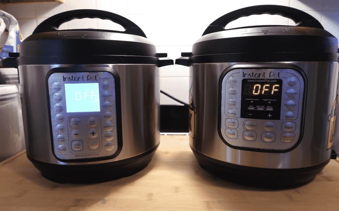 Instant Pot Duo Plus vs Duo