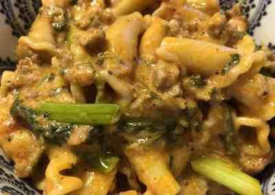 Instant Pot Spicy Sausage Pasta