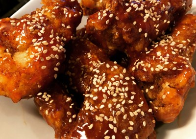 The Best Sesame Chicken (Korean Fried Style)
