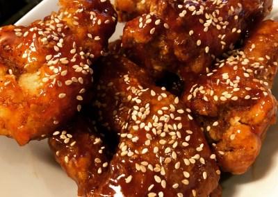 The Best Sesame Chicken (Korean Fried Style)