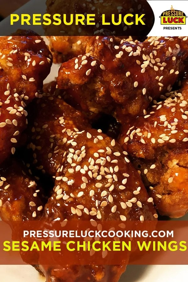 The Best Sesame Chicken (Korean Fried Style) | Pressure Luck Cooking