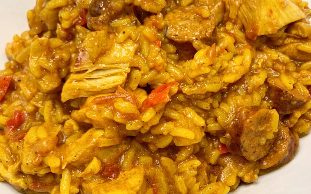 Instant Pot Arroz con Pollo (Chicken with Rice)