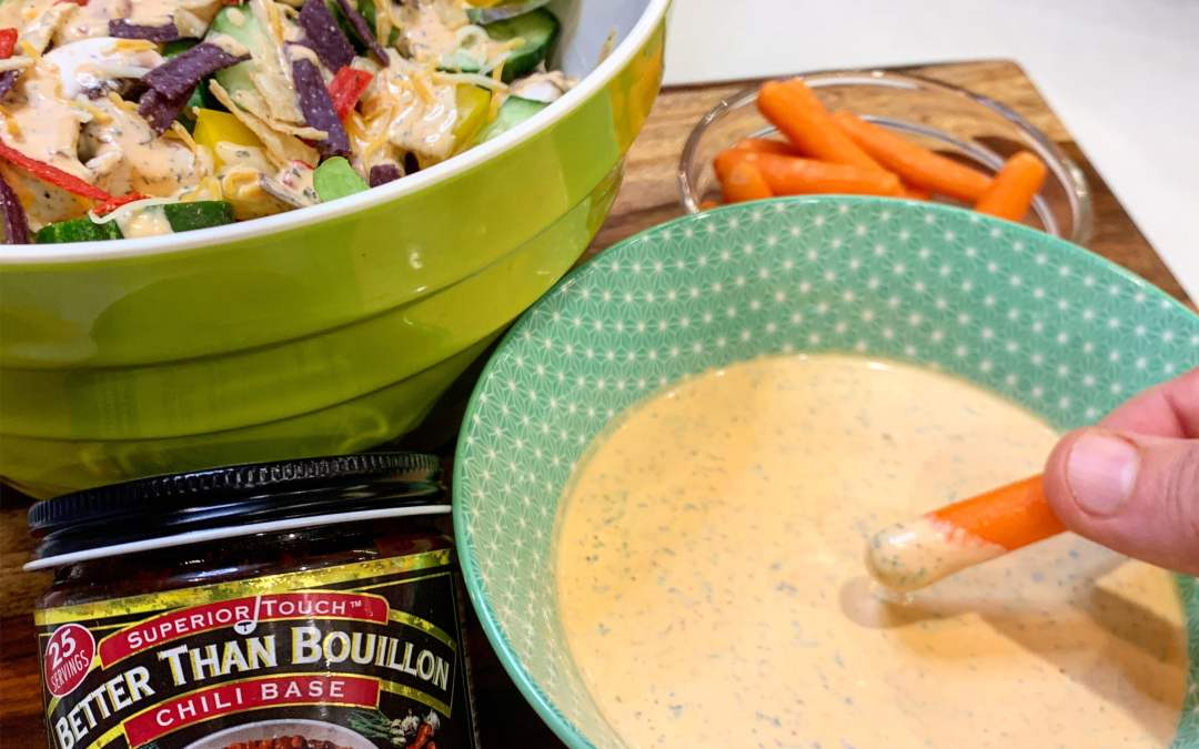 Chili Ranch Salad Dressing