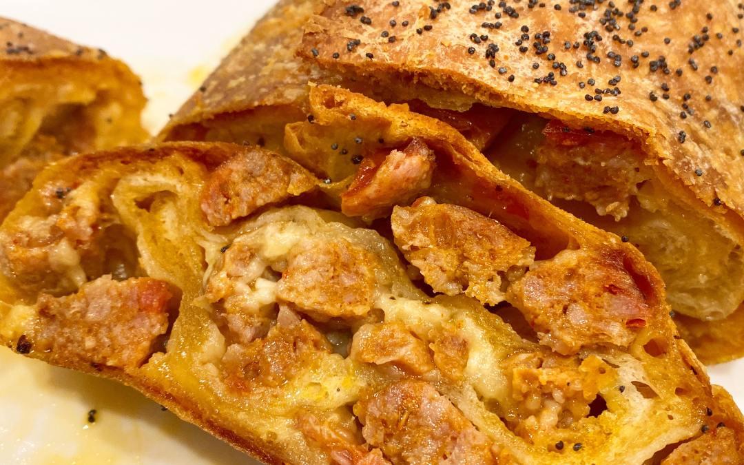 Scrumptious Sausage Bread