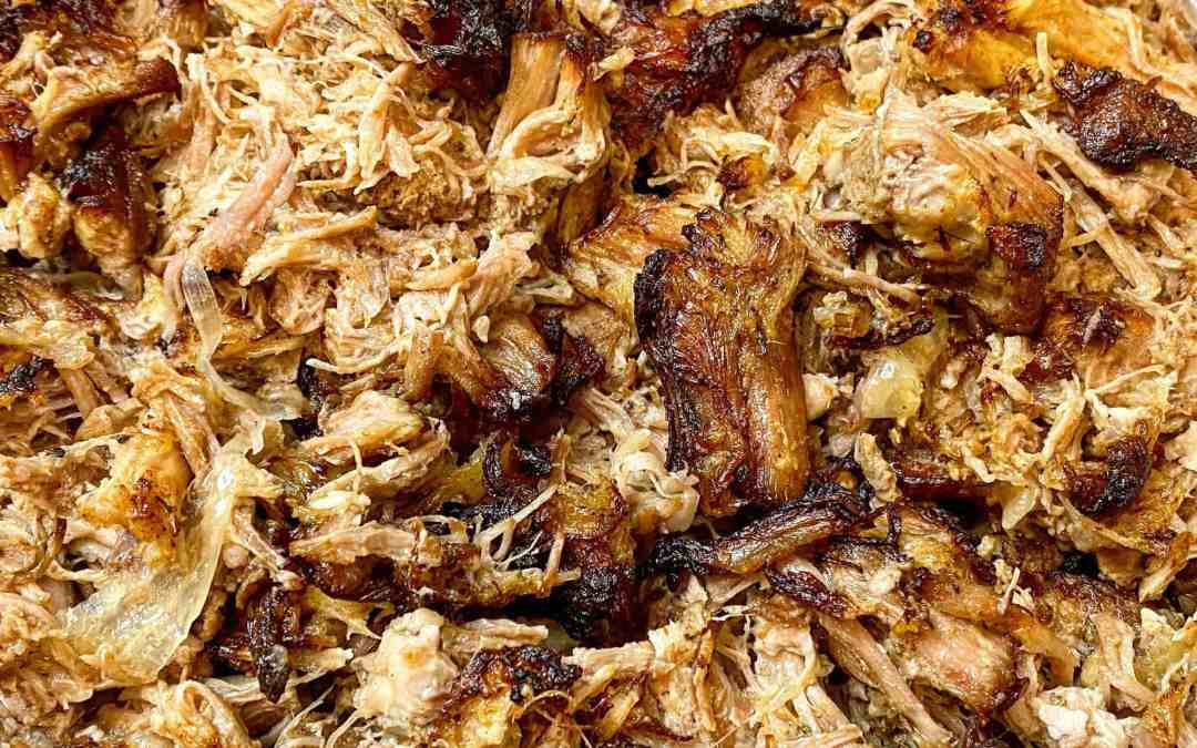 Instant Pot Crispy Carnitas (with Air Fryer Lid)