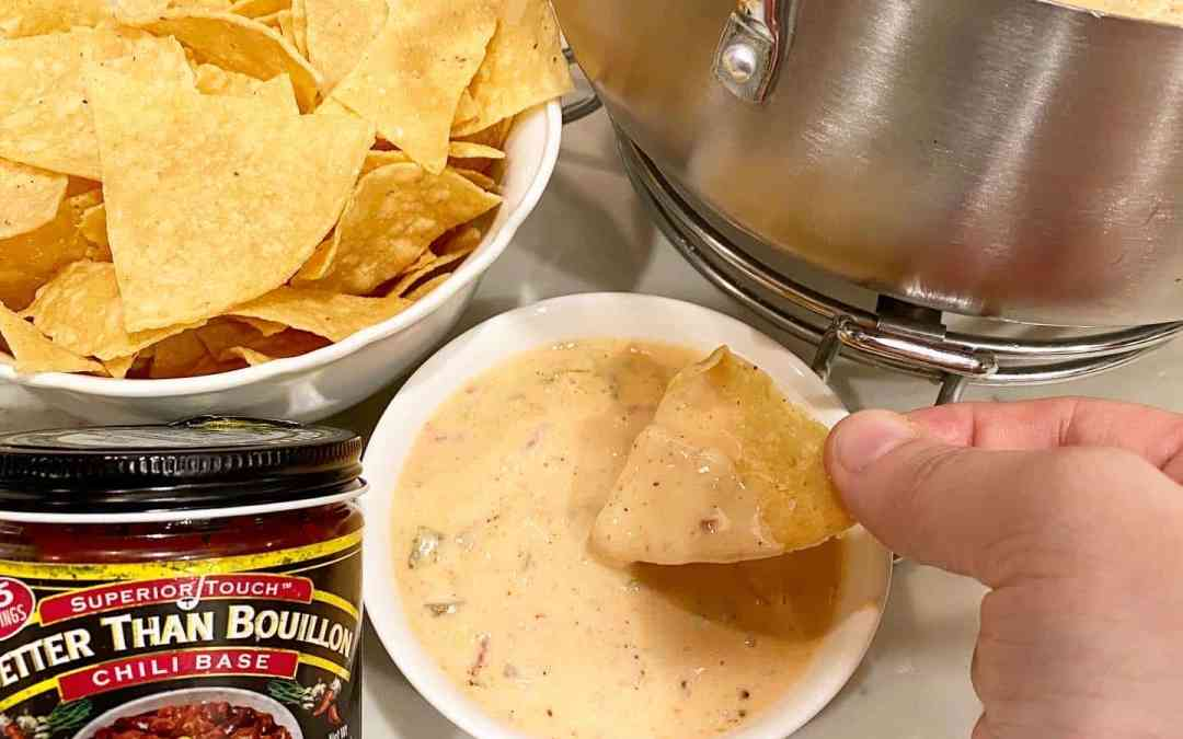 The Best Queso with Better Than Bouillon