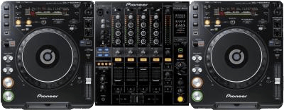 DJ hardware set-up