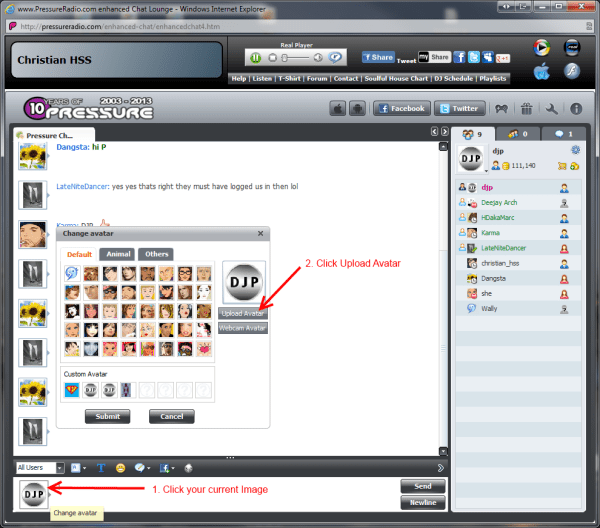New Chat room feature image