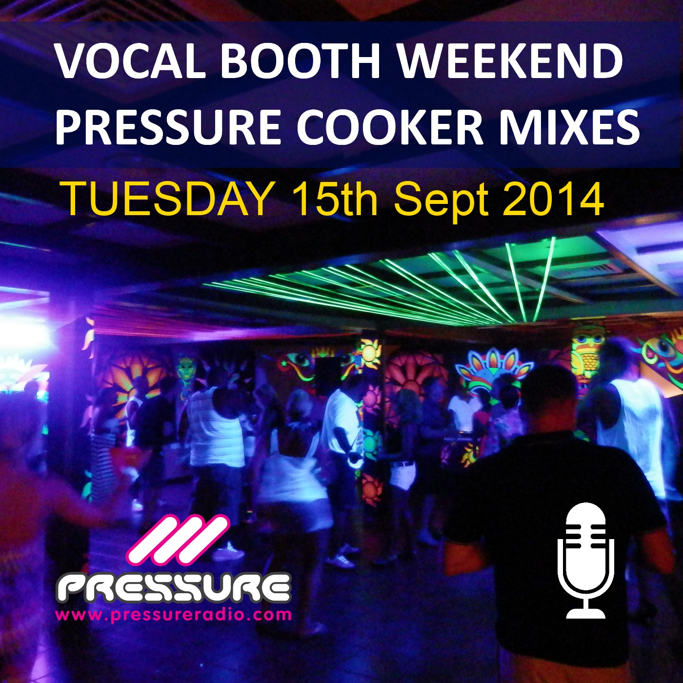 Dylan pressure cooker vocal booth weekend 2014 mix for Vocal house music 2015
