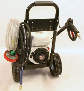 Honda Gp 200 pressure washer 3000 psi domestic industrial commercial driveways houses external walls