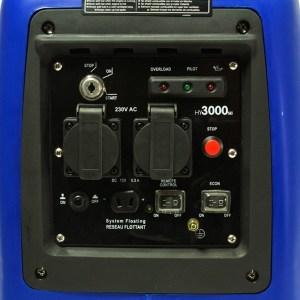 hyundai hy3000sei 2.8kw generator review control panel