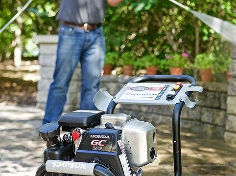 SIMPSON Cleaning MSH3125-S 3200 PSI at 2.5 GPM Gas Pressure Washer Powered with OEM Technologies Axial Cam Pump Review