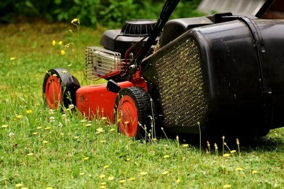 gas push mowers