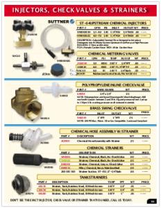 2019 Pressure Zone Parts 14 Injectors
