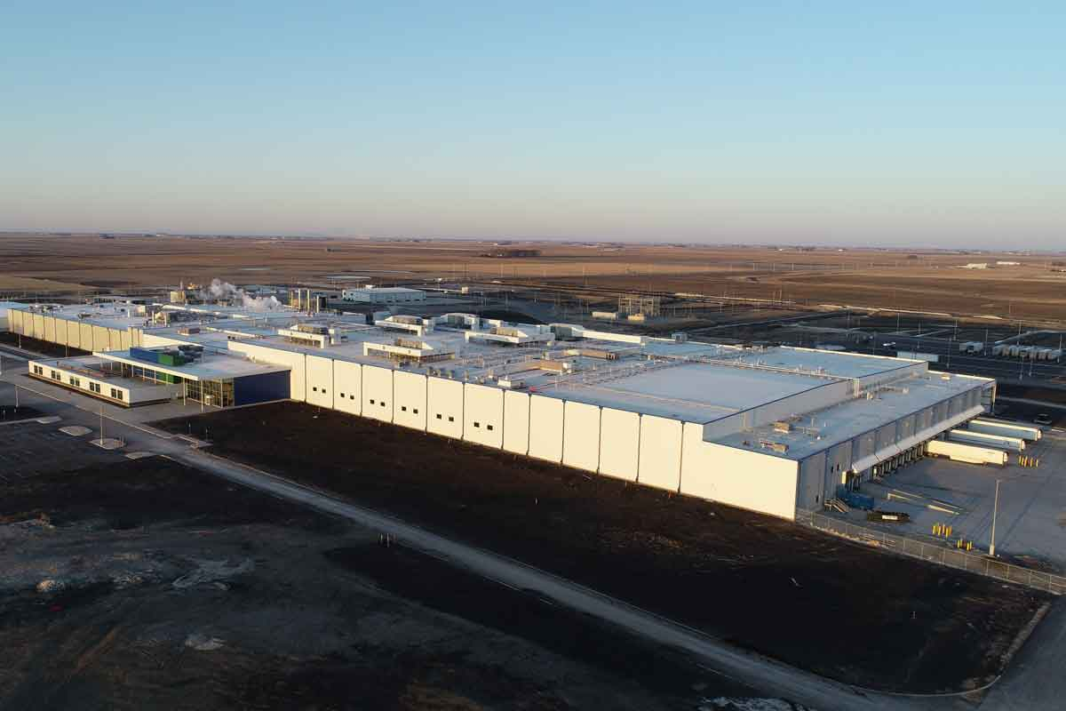 Prestage Foods of Iowa Processing Plant Building Exterior