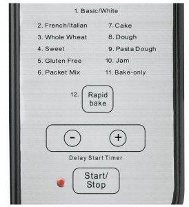 Cuisinart-CBK-100-programas-pan