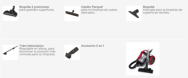 Polti-Forzaspira-C110-accesorios