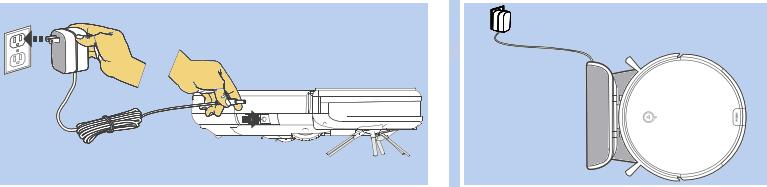 ILIFE A6 Robot Aspirador-funcionamiento-cargar-bateria