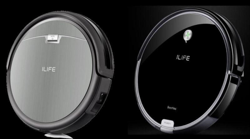 ILIFE A6 Robot Aspirador-vs A4s-diseño