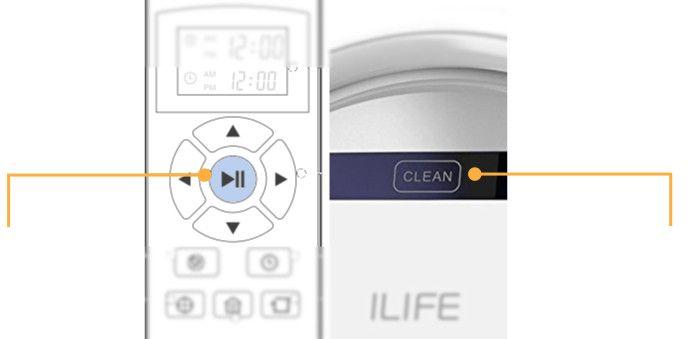 ILIFE V3s- Robot Aspirador-clean