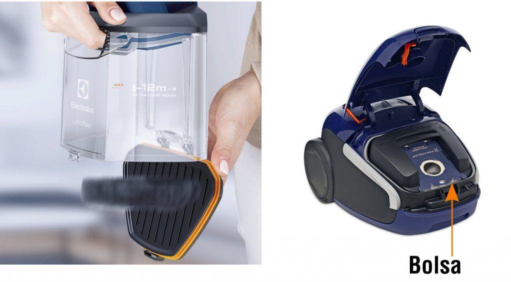 comprar aspirador trineo con bolsa-sin bolsa