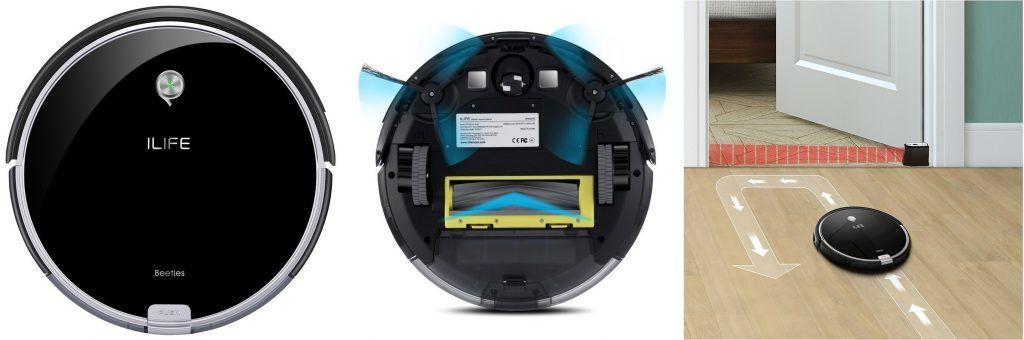 ILIFE A6 Robot Aspirador y Limpieza de Suelos