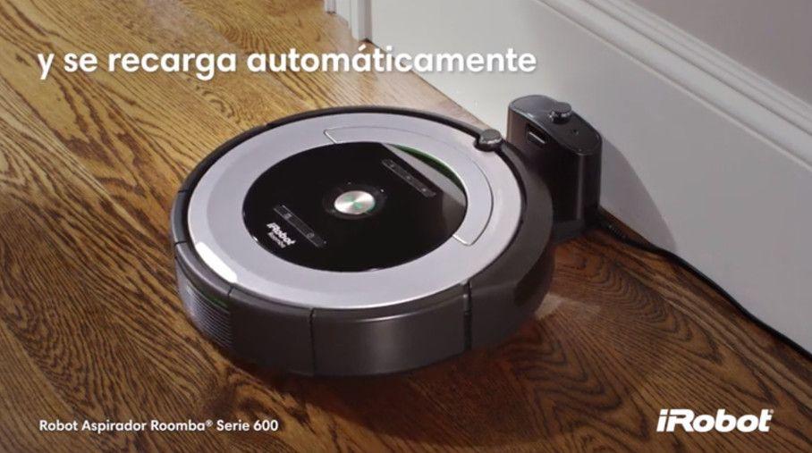 roomba 680 recarga automatica