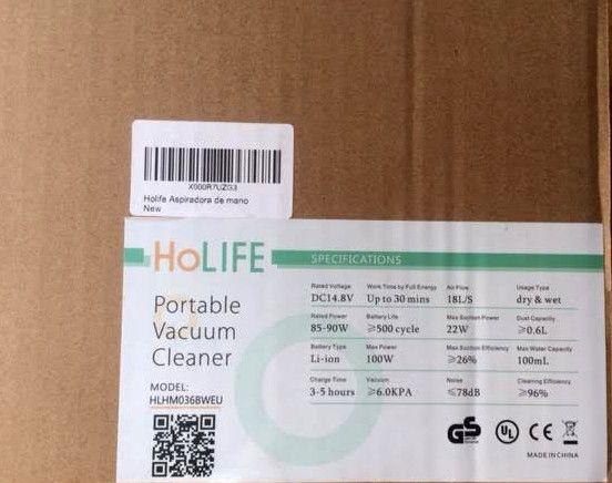 manual-aspiradora de mano holife-caja embalaje