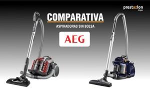 aspiradoras sin bolsa AEG comparativa