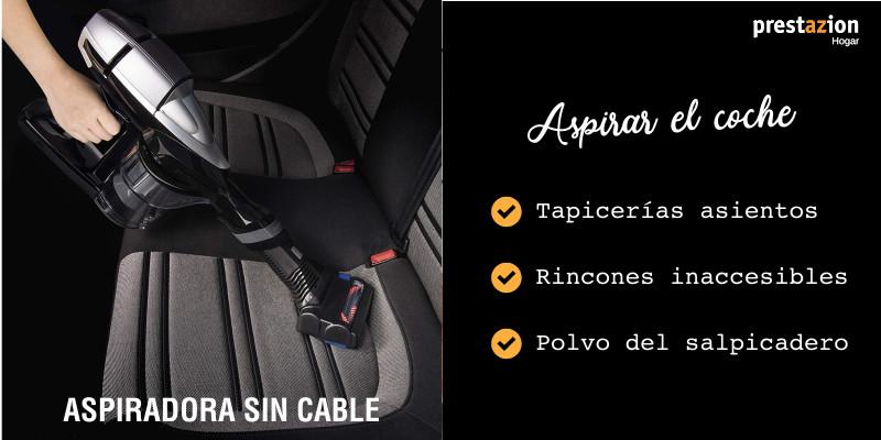 aspiradoras sin cable-ventaja aspirar coche asientos y tapicerías