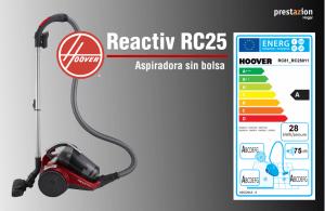 Hoover reactive aspirador sin bolsa-RC81_RC25011 precio opinion