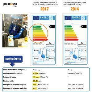etiqueta energetica aspiradoras-2017-DIFERENCIAS