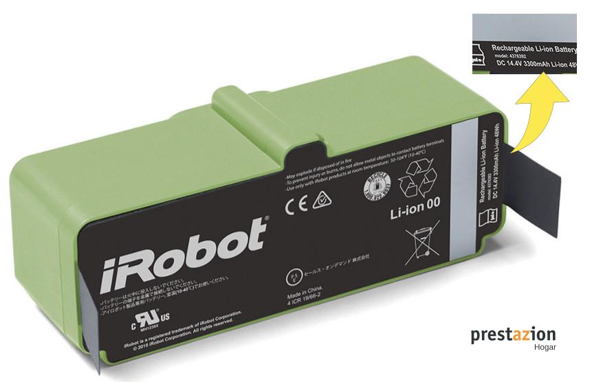 COMPARATIVA ROOMBA 960- 980-batería