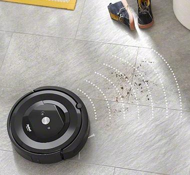 iRobot Roomba e5154-sensores deteccion de suciedad