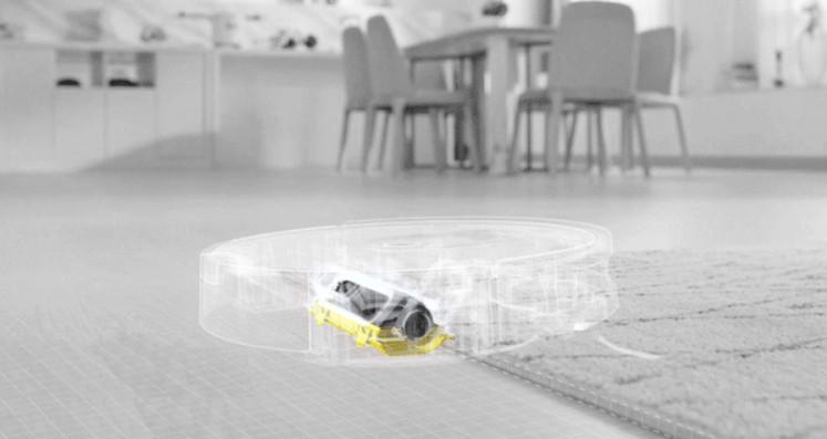 ILIFE - A7 adaptacion a alfombras y suelos duros