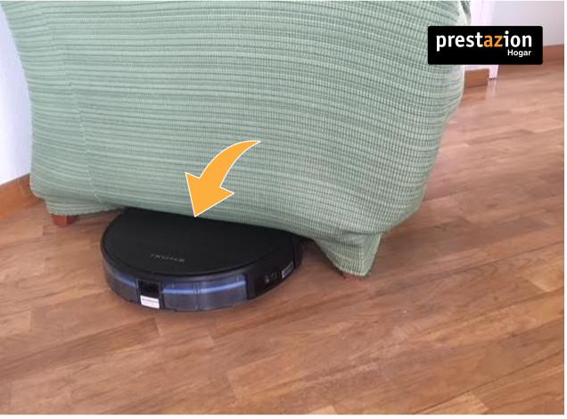 IKOHS NETBOT S15-limpiando debajo de los muebles