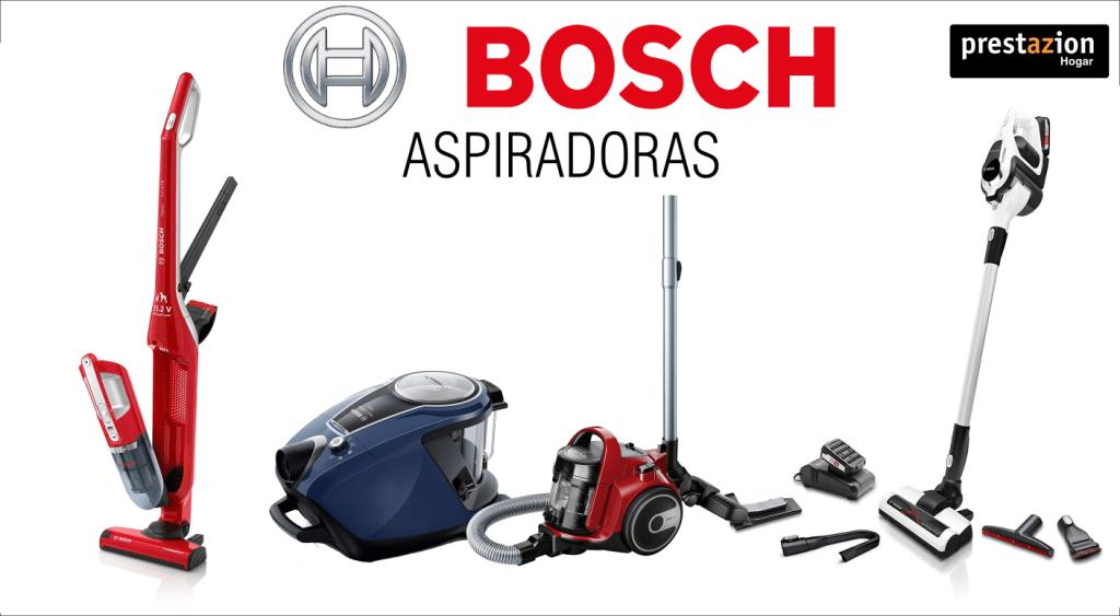 Varias Aspiradoras Bosch de las mejores