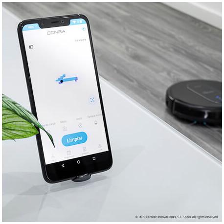 App de robot aspirador conga 1590